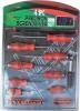 10 pecs Secwdriver Set