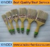 100% White color Bristles paint brush set Handle Thickness: 12mm~17mm