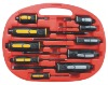 10pcs Go-through Screwdriver Set