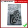 10pcs hexagon wrench