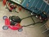 118cc gasoline collect high grass lawn mower