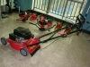 118cc gasoline collect high grass lawn mower