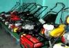118cc gasoline petrol lawn mower 4-stroke