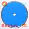 12'' 300mm 14'' 350mm blue fast cutting Turbo Rim Diamond Blade for Hard Concrete--COAU