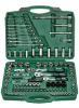 120pcs socket and bits set hand tools in box