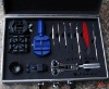 12pcs Watch repair kit tools (aluminium case)