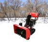 13hp loncin two stage snow thrower with track