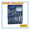 14pcs Flexible Gear Standard Ratchet Combination Wrench Spanner Set