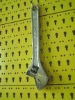 """15""""*375mm chrome plated adjustable wrench"""