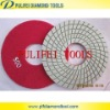 150mm diamond polishing pads for granite and marble