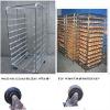 16 trays stainless steel 10 shelf Trolly Racks