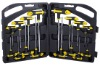 16pc T-Handle Hex Key Wrench Set