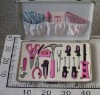 17pc AL pink lady tool set