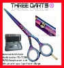 "2011 hot sales titanium hair dressing scissors 5.0""-6.0"""