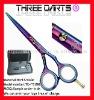 """2011 hot sales titanium hair dressing scissors 5.0""""-6.0"""""""