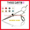 2011 new designed rotate 360 degree all directions hair scissor