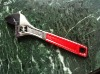 2011new type wide opening adjustable wrench