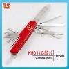 2012 New design multi functiona pocket LED knife K5011Cabs.