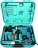 27pcs hammer drill set, Cordless drill +Electric hammer