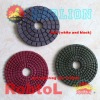 3''(80mm) Nanomaterial Wet Diamond Polishing Pads for Extremely Long Life and High Efficiency Polishing Stone--STFP