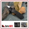 "3"" ceramic folding knife (mirror polished blade with Carbon Fiber handle)"