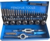 32PC DIN Series taps and dies Set, Alloy Steel