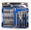 34pcs wood carving tools set