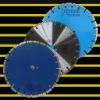 350mm Diamond saw blade: Laser welded turbo saw blade
