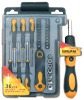 36pcs Ratchet Screwdriver Set