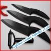 3pcs knife and peeler,ceramic knife