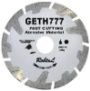 4''-10'' Dry cutting diamond saw blade--GETH