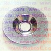 4 3/8'' 110mm 115mm 4.5'' Electroplated Diamond Grinding Cup Wheel with Continuous Rim for smooth cutting--ELAV