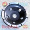 "4"" Single Row Diamond Grinding Cup Wheel --COPS"