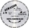 4''dia105mm Laser welded segmented small diamond saw blade for fast cutting abrasive material(GEWA)