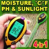 4 in 1 pH Temperature Moisture Light Meter Soil Plant