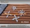 4 pcs stainless steel dart set