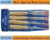 4 pcs wood chisel set for good quality
