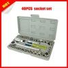 40pcs combination socket set