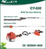 42.7cc 3-in-1 (chainsaw ,grass trimmer ,hedge trimmer) multi-funcation machine