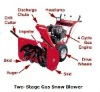 """42"""" two- stage snow blower"""