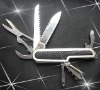420steel pvc handle multi pocket knife PD350