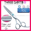 440c steel thinning sharp tooth professional barber hair thinning scissors 6.0""