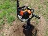 49CC petrol hand ground drill 1E44F-5A
