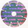 5''dia125mm Segmented Diamond Saw Blade with Two Small Deep Tooth for Concrete/diamond blade /segmented diamond blade(COBD)