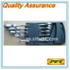 5pcs Flexible Head Ratchet Combination Wrench Set Spanner in box
