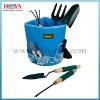 5pcs steel garden tool set