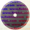 6'' Waved Turbo Diamond Blade for Hard Concrete/turbo rim /diamond blade(COWT)