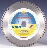 6''dia150mm Turbo small diamond blade for longlife cutting granite(STBH)