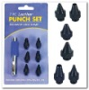 6 in 1 hollow punch set
