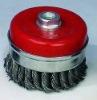 "65mm 2-1/2""Steel Twist Wire Cup Brush"
